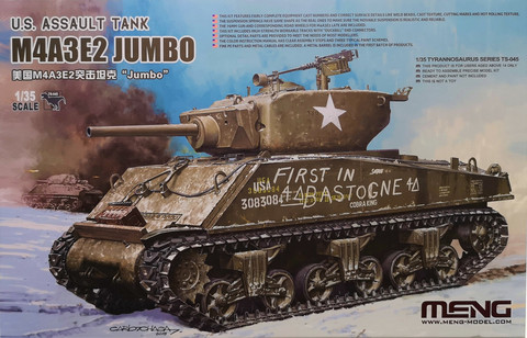 U.S. Assault Tank M4A3E2 Jumbo, 1:35 (pidemmällä toimitusajalla)