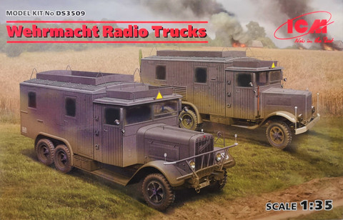 Wehrmacht Radio Trucks, 1:35