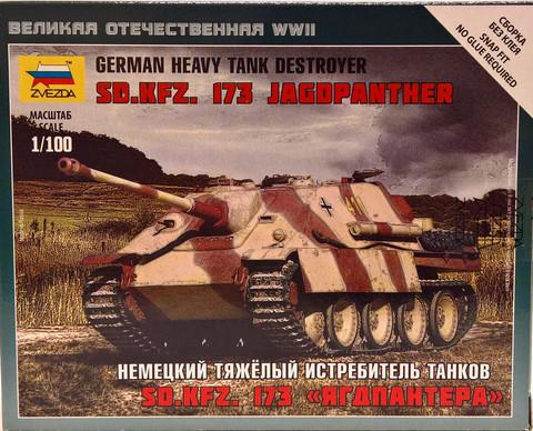 German Heavy Tank Destroyer Sd.Kfz.173 Jagdpanther, 1:100