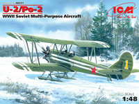 U-2/Po-2 WWII Soviet Multi-Purpose Aircraft, 1:48