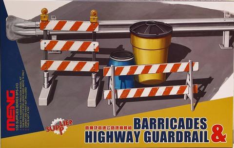 Barricades & Highway Guardrail, 1:35 (pidemmällä toimitusajalla)