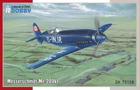 Messerschmitt Me 209V-1, 1:72 (pidemmällä toimitusajalla)