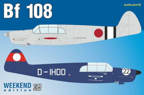 Bf 108, 1:48 (pidemmällä toimitusajalla)