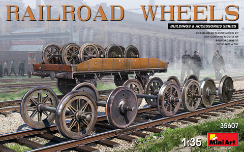 Railroad Wheels, 1:35