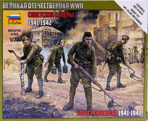 Soviet Engineers 1941-1942, 1:72