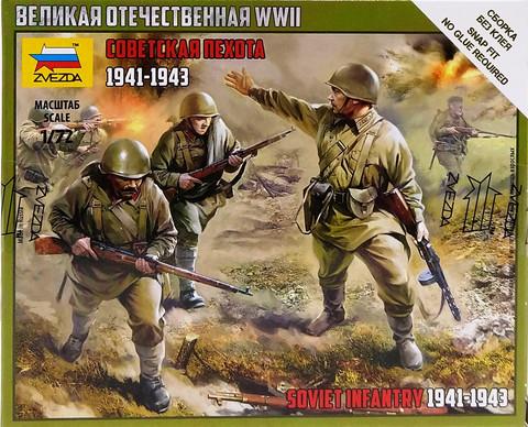 Soviet Infantry 1941-1943, 1:72 (pidemmällä toimitusajalla)