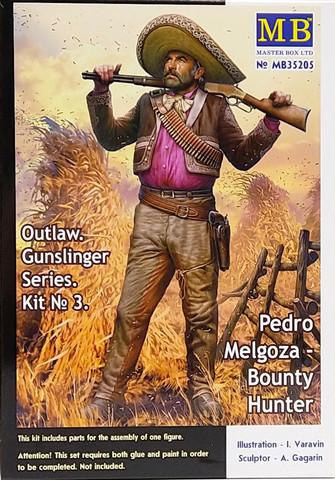 Outlaw. Gunslinger Series, Pedro Melgoza, Bounty Hunter, 1:35 (pidemmällä toimitusajalla)
