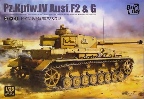 Pz.Kpfw.IV Ausf.F2 & G, 1:35 (pidemmällä toimitusajalla)