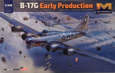 B-17G Early Production, 1:48 (pidemmällä toimitusajalla)
