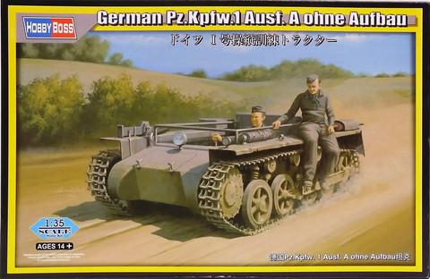 German Pz.Kpfw.1 Ausf.A Ohne Aufbau, 1:35 (pidemmällä toimitusajalla)