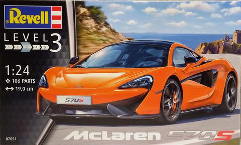 McLaren 570S, 1:24 (pidemmällä toimitusajalla)