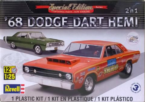 Dodge Dart HEMI '68, 1:25 (pidemmällä toimitusajalla)