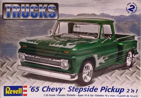 Chevrolet Stepside Pickup '65 2'n1, 1:25 (pidemmällä toimitusajalla)