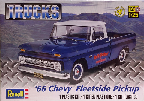 Chevrolet Fleetside Pickup '66, 1:25