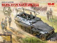Sd.Kfz.251/6 Ausf.A with Crew, 1:35