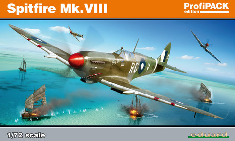 Supermarine Spitfire Mk.VIII ProfiPACK, 1:72 (pidemmällä toimitusajalla)