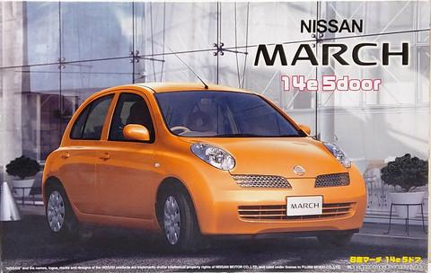 Nissan Micra /  March 14e 5door, 1:24 (pidemmällä toimitusajalla)