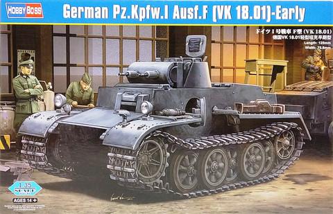 German Pz.Kpfw.I Ausf.F (VK 18.01) Early, 1:35 (pidemmällä toimitusajalla)