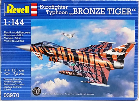 Eurofighter Typhoon Bronze Tiger, 1:144