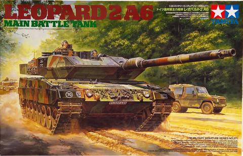 Leopard 2A6 Main Battle Tank, 1:35 (pidemmällä toimitusajalla)