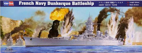 French Navy Dunkerque Battleship, 1:350 (pidemmällä toimitusajalla)