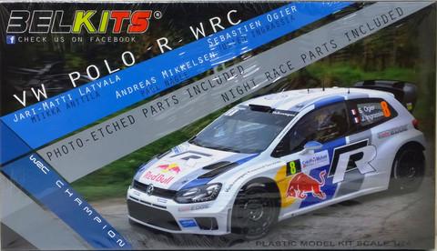 VW Polo R WRC 1:24 (pidemmällä toimitusajalla)