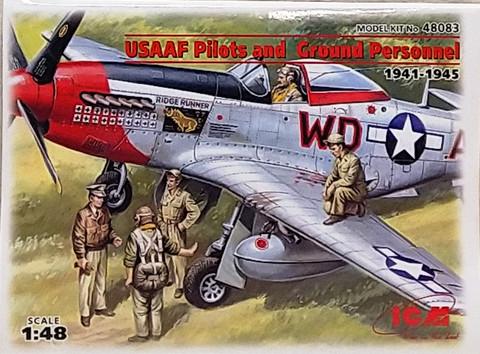 USAAF Pilots and Ground Personnel (1941-1945), 1:48 (pidemmällä toimitusajalla)