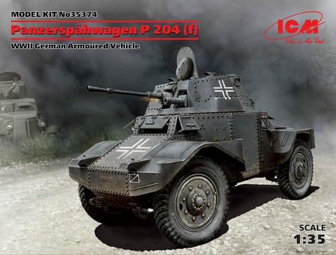 Panzerspähwagen P 204 (f), 1:35 (pidemmällä toimitusajalla)
