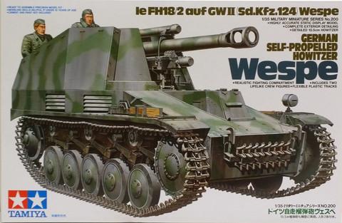 German Self-Propelled Howitzer Wespe, 1:35 (pidemmällä toimitusajalla)