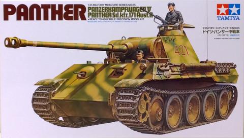 Panzerkampfwagen V Panther (Sd.Kfz.171) Ausf.A, 1:35 (pidemmällä toimitusajalla)