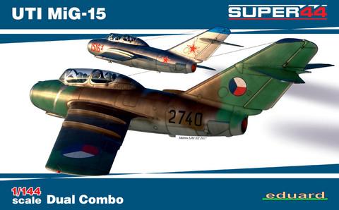 UTI MiG-15 Dual Combo, 1:144 (pidemmällä toimitusajalla)
