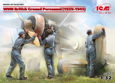 WWII British Ground Personnel (1939-1945), 1:32