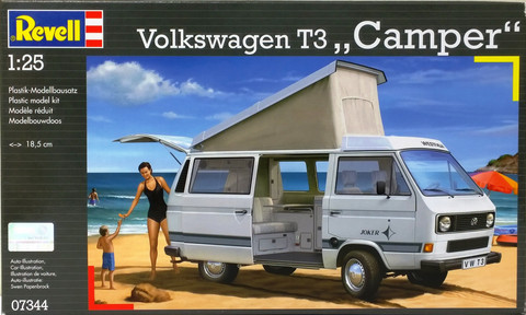 Volkswagen T3 Camper, 1:24 (pidemmällä toimitusajalla)