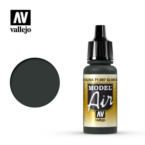 Olive Green, Model Air 17ml
