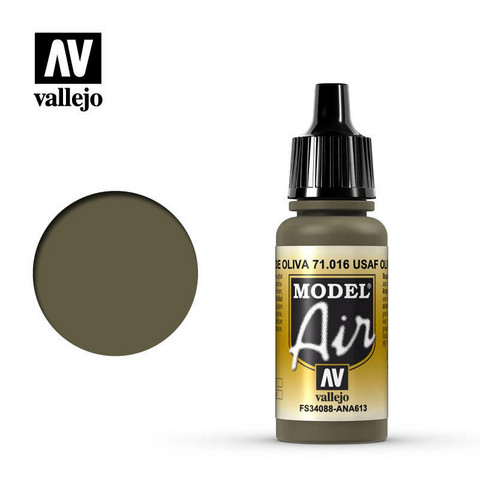USAF Olive Drab, Model Air 17ml