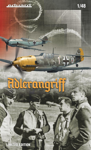 Adlerangriff (Bf109 E x 2) Limited Edition, 1:48 (pidemmällä toimitusajalla)