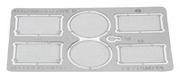 German Panther Ausf.D Photo-Etched Grille Set, 1:35