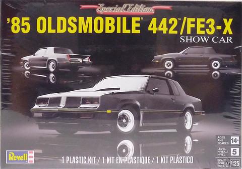 Oldsmobile 442FE3-X Show Car '85, 1:25 (pidemmällä toimitusajalla)