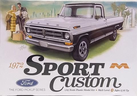 Ford 1972 Sport Custom, 1:25 (pidemmällä toimitusajalla)
