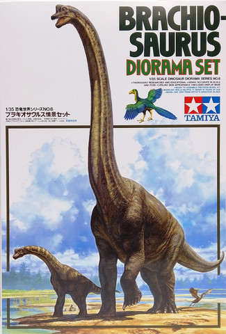 Brachiosaurus Diorama Set, 1:35
