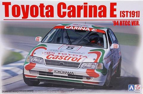 Toyota Carina E ST191 '94 BTCC Version, 1:24 (pidemmällä toimitusajalla)
