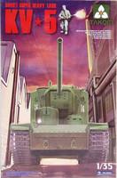 Soviet Super Heavy Tank KV-5, 1:35