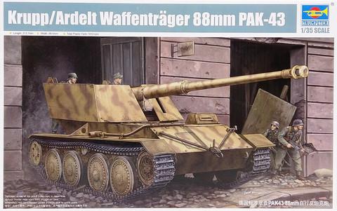 KruppArdelt Waffenträger 88mm PAK-43, 1:35 (pidemmällä toimitusajalla)