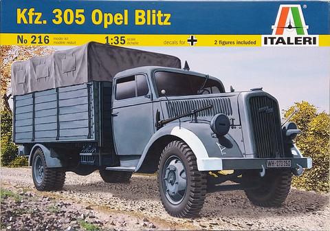 Kfz.305 Opel Blitz, 1:35 (pidemmällä toimitusajalla)