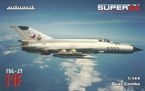 MiG-21MF in Czechoslovak Service Dual Combo, 1:144 (pidemmällä toimitusajalla)