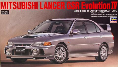 Mitsubishi Lancer GSR Evo IV 1:24