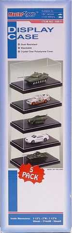 Display Case 5-Pack (90mm x 51mm x 38mm)