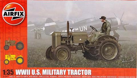 WWII U.S. Military Tractor, 1:35 (pidemmällä toimitusajalla)
