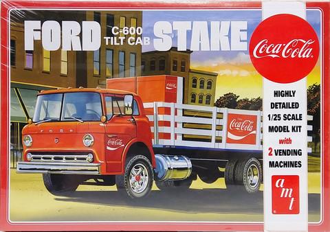 Ford C-600 Tilt Cab Coca-Cola, 1:25 (pidemmällä toimitusajalla)