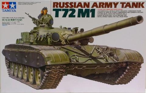 Russian Army Tank T72 M1, 1:35 (pidemmällä toimitusajalla)